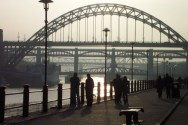 Quayside at dusk